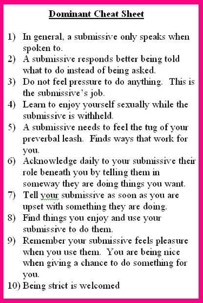 Femdom wife advice