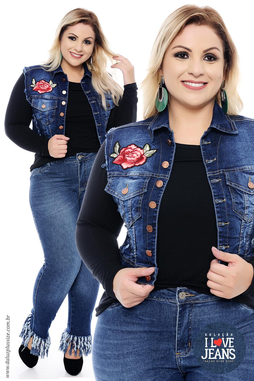 b672c6c5b4 Coleção I Love Jeans Plus Size - daluzplussize.com.br | I Love Jeans ...