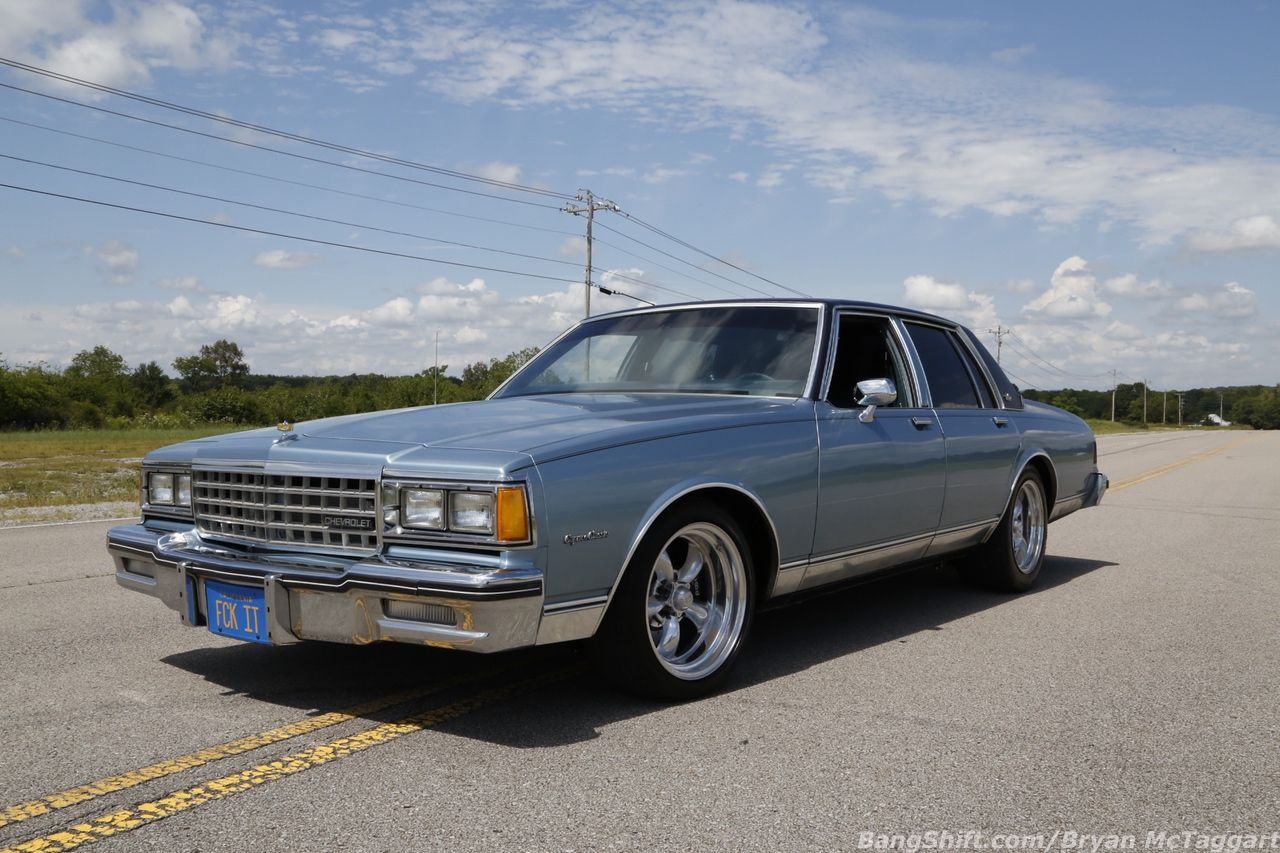 Light Blue Paint Dark Blue Roof And That Faked California Plate We Know This Car This Monster 1985 Chevy Capri Chevy Caprice Classic Chevy Caprice Classic