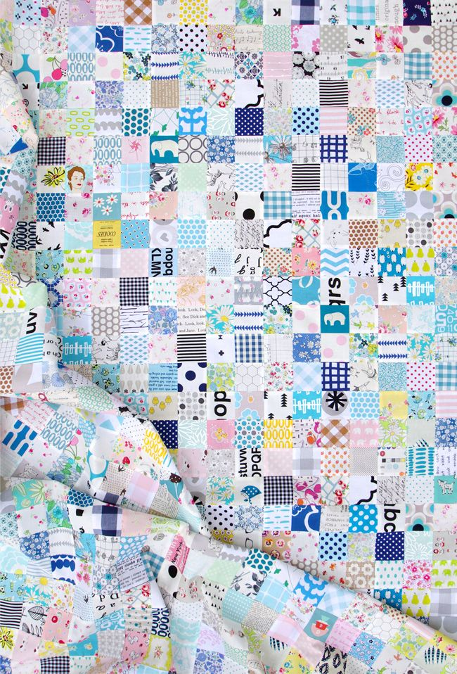 All the Blues - A Quilt in Progress   Red Pepper Quilts 2015