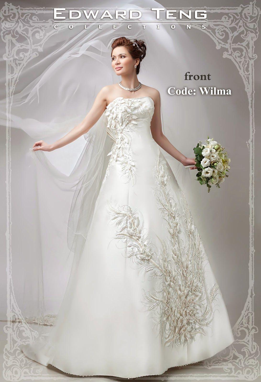Edward Teng - Philippine Bridal Gowns | Wedding Gown | Pinterest ...