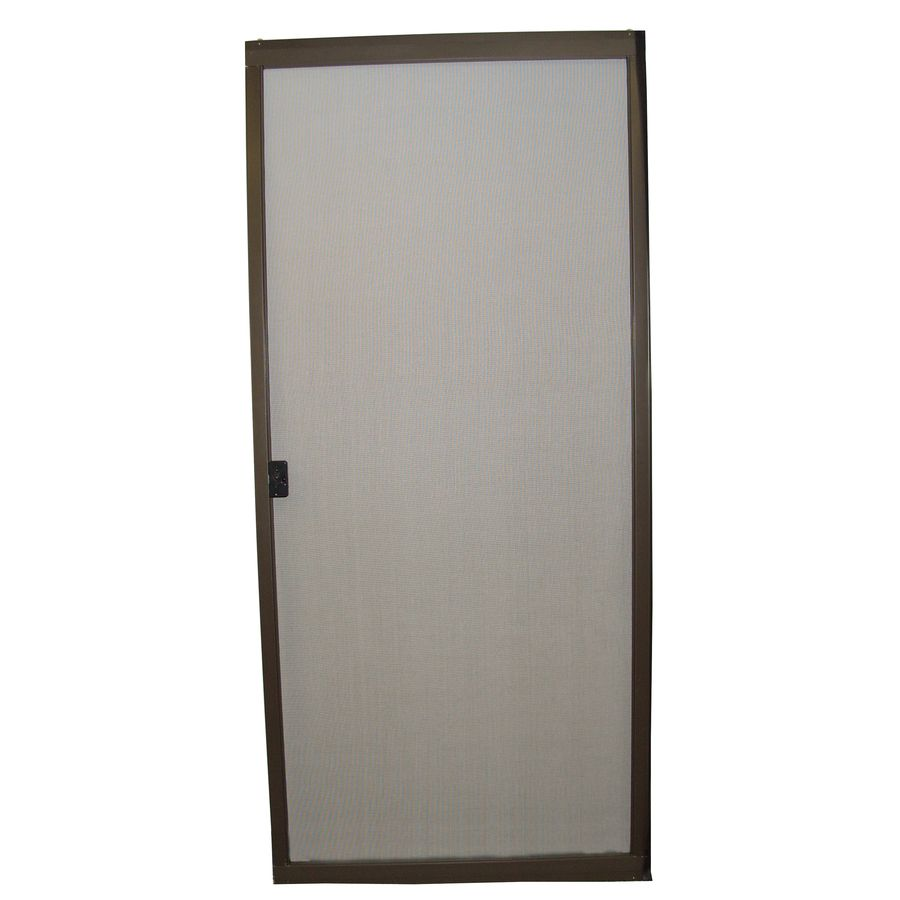 Ritescreen Steel Frame Sliding Screen Door Actual 30 In X 80 125