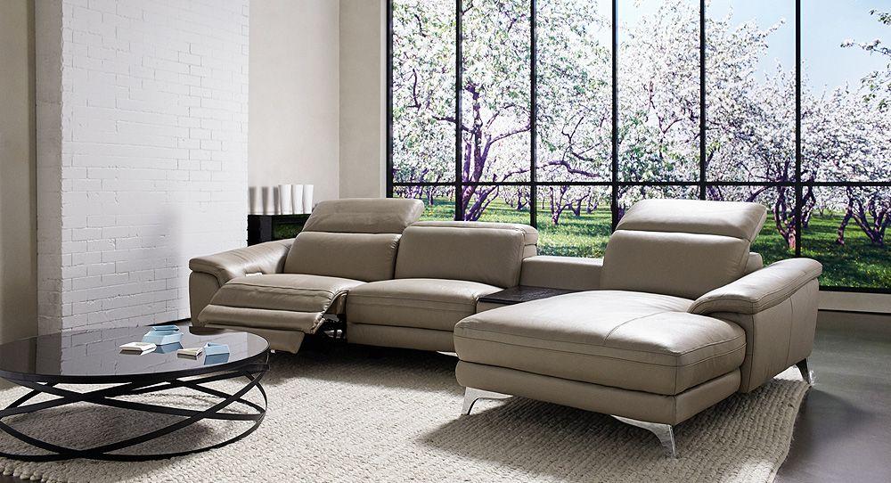 Ferrara modular recliner lounge with chaise : chaise lounge with recliner - Sectionals, Sofas & Couches