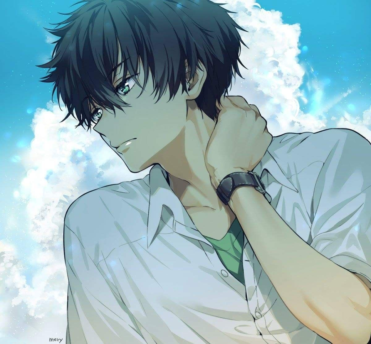 Pin de Ernande em Anime Guys Menina anime, Garotos anime