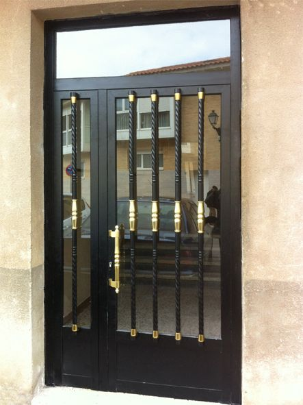 Anusa Proyectos Puertas entrada PUERTAS ALUMINIO Pinterest - puertas de entrada