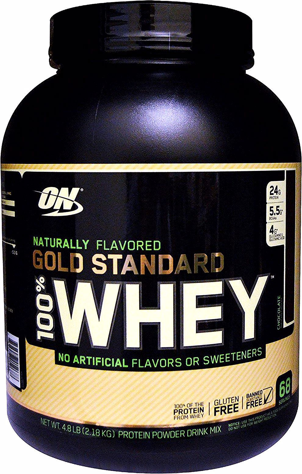 Optimum Nutrition Naturally Flavored 100 Whey Gold Standard Chocolate 4 8 Lb 2 18 Kg Optimum Nutrition Unflavored Protein Powder Unflavored Protein