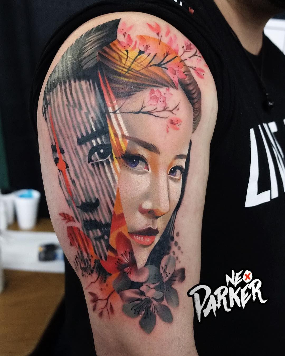 Tattoo Artist Neo Parker Rober Pedragosa Hinh Xăm Xăm