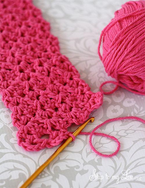 How to Make a Crochet Ear Warmer | Patterns | Pinterest | Gehäkelte ...