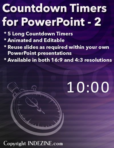 countdown timers for powerpoint set 2 longer pinterest