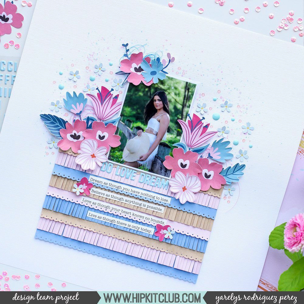 We Have Nothing to Lose Scrapbook Page Kit
