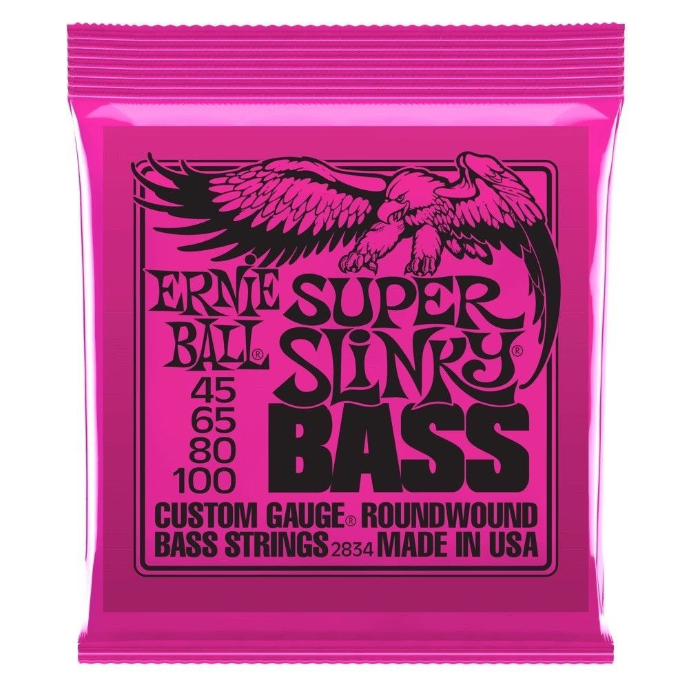 Ernie Ball 2834 Super Slinky Nickel Wound Electric Bass Strings