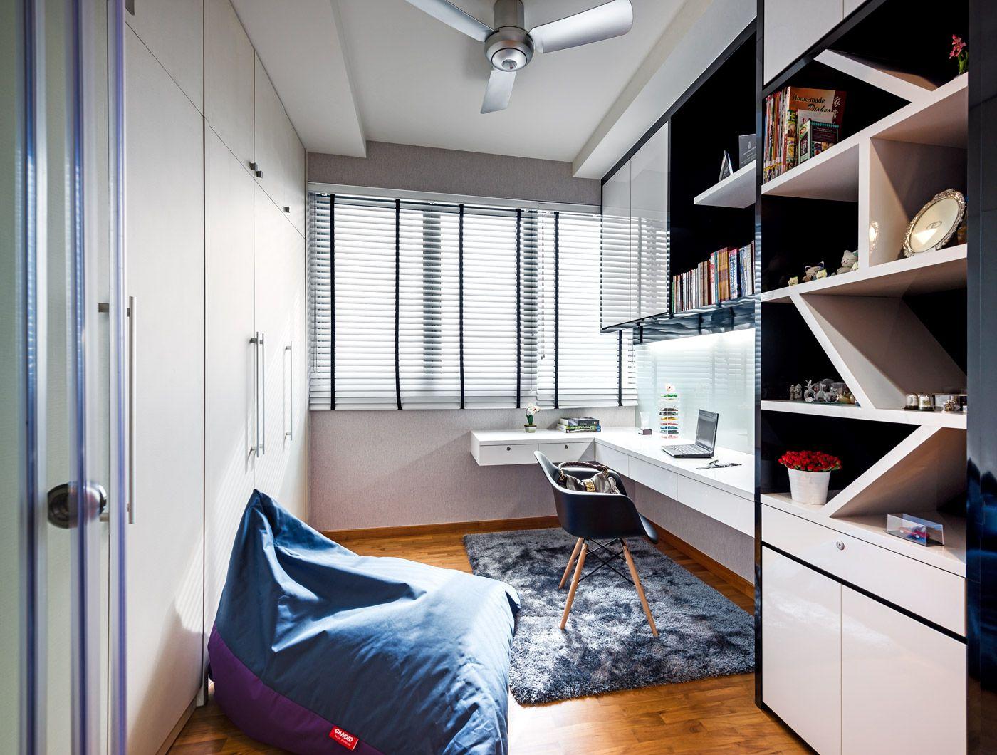 study room furniture design. The Canopy - Yishun, Modern Condominium Interior Design, Study Room / Home Office Furniture Design H