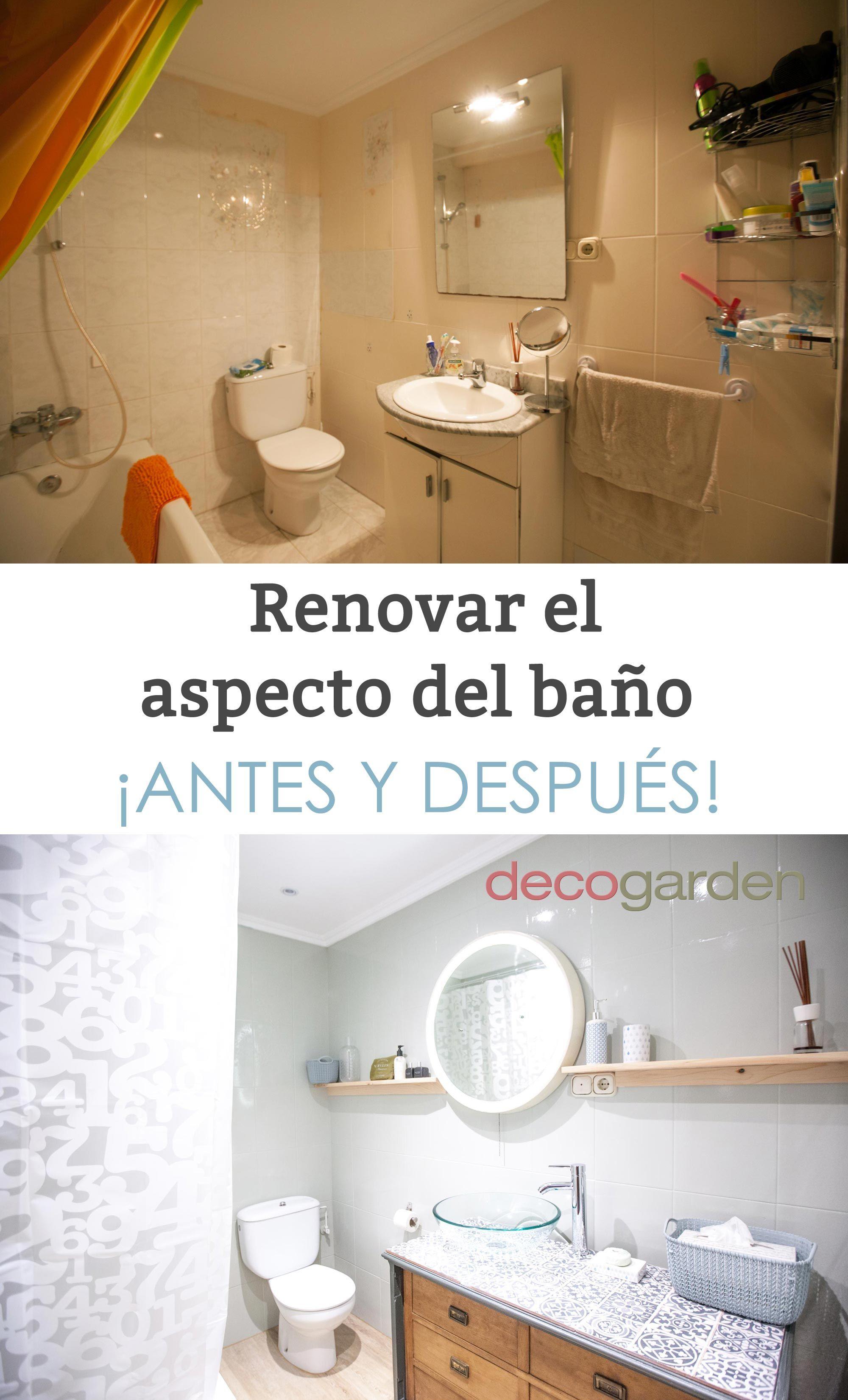 Renovar el aspecto del baño - Decogarden | Decoración de ...