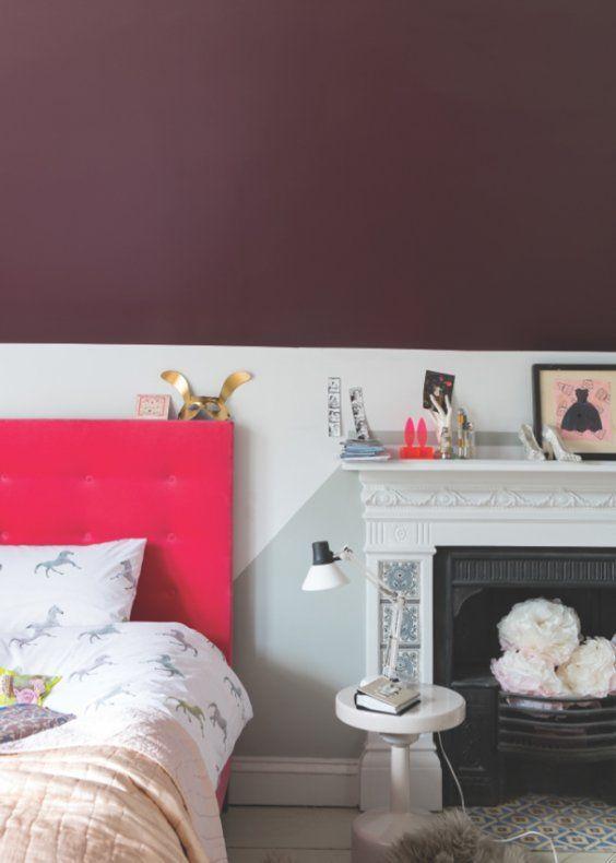 Osez la couleur dans la chambre ! Bedroom closets, Bedrooms and - couleur de la chambre