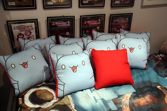 Bravest Warriors  CATBUG Pillow 35cm x 35cm by KitaArcherDesigns, $25.00