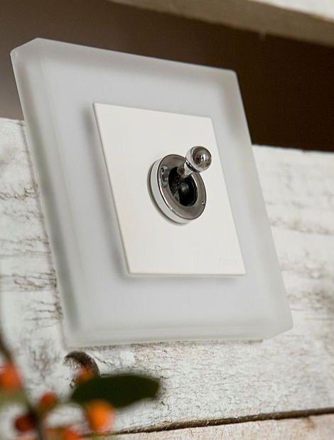 fontini retro light switches - switch plates