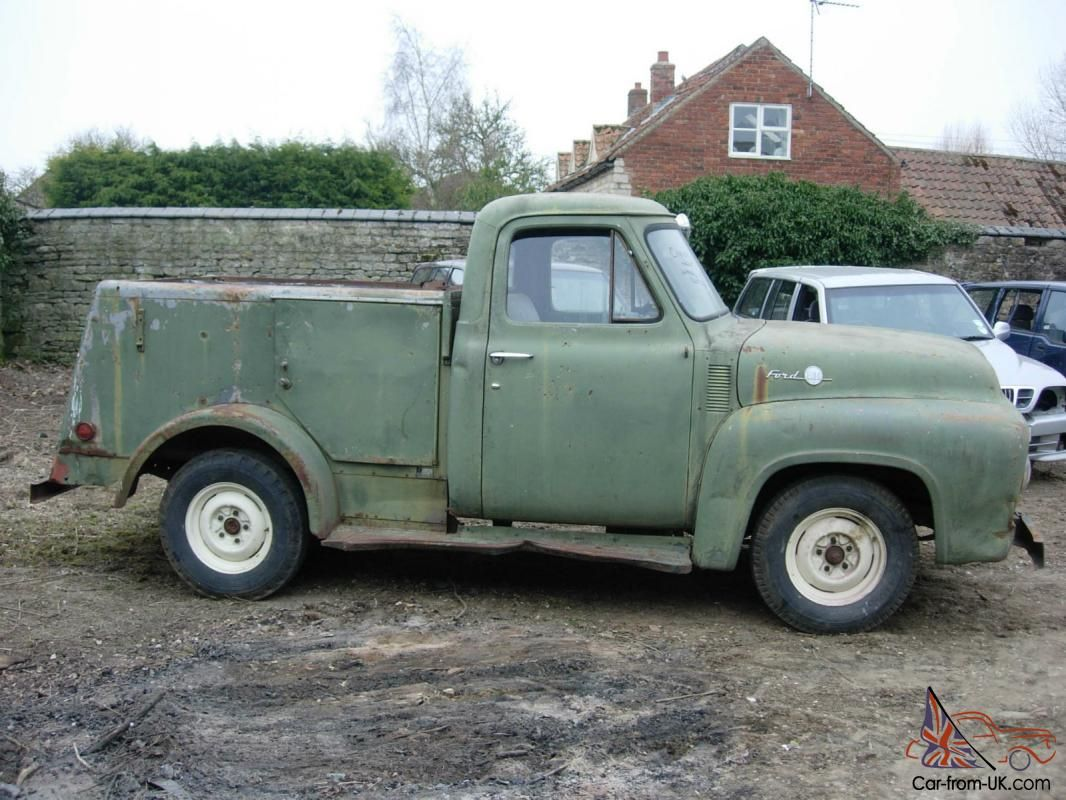 ford stepside | 1955 FORD F100 STEPSIDE PICKUP SERVICE TRUCK RESTORATION PROJECT for ...