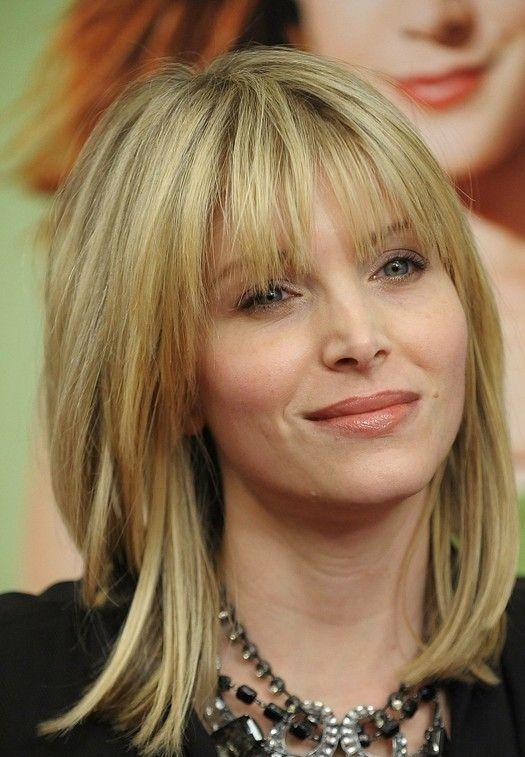 Medium Side Bang Thin Hair | The Facial Shapes Hairstyles for Women ...