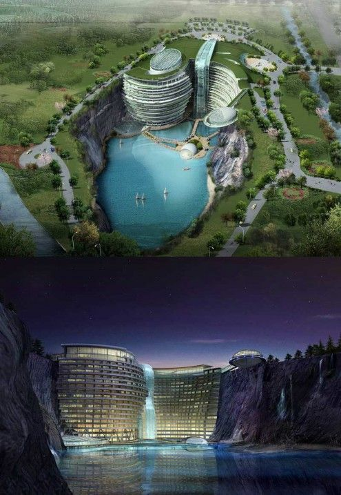 Songjiang Hotel, by Atkins