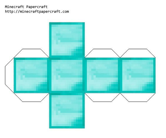 It's just a picture of Minecraft Blocks Printable within bookshelf