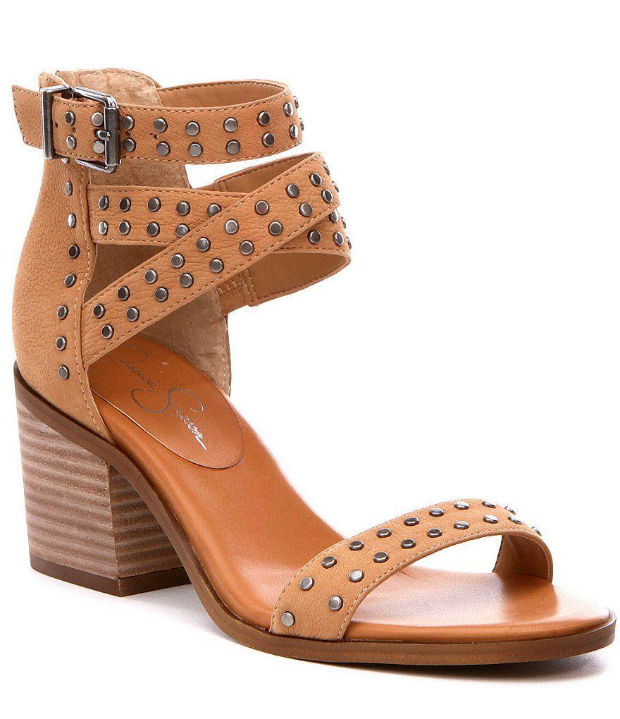 Jessica Simpson Roksanaa Block Heel Sandals Dillards