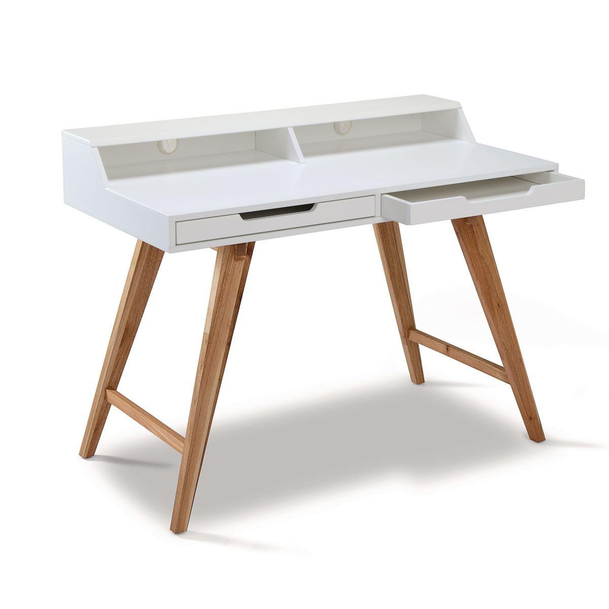 Schreibtisch modern  Schreibtisch weiß im Modern Loft Look | Modern lofts, Lofts and Modern