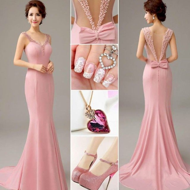 Tag friends who would love this pink dress! Tbdress.com --Online ...