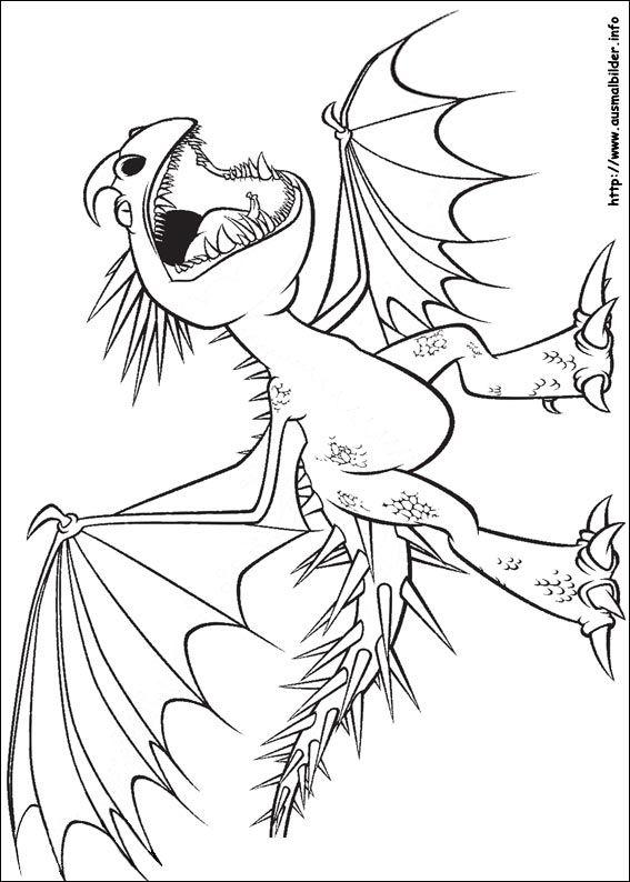 Drachenzähmen Leicht Gemacht Malvorlagen Malvorlagen Pinterest