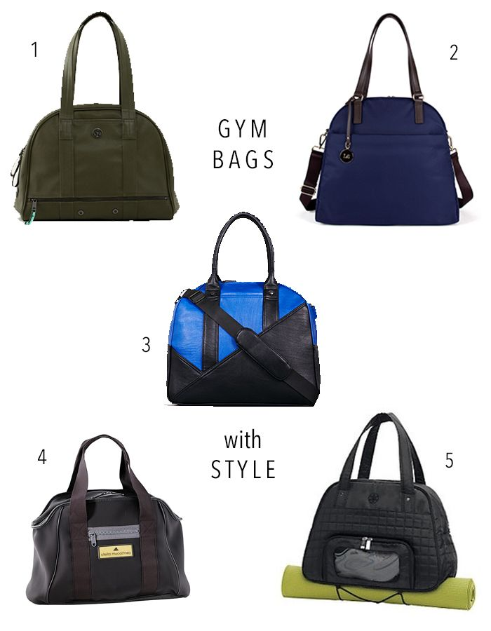 5 Stylish Gym Bags Cave Girl In The City
