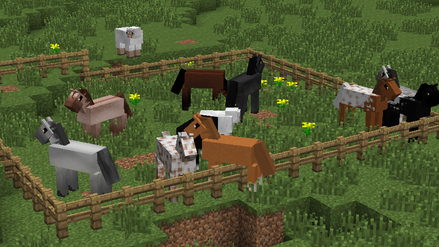 Simply Horses textures for minecraft    I have too much free