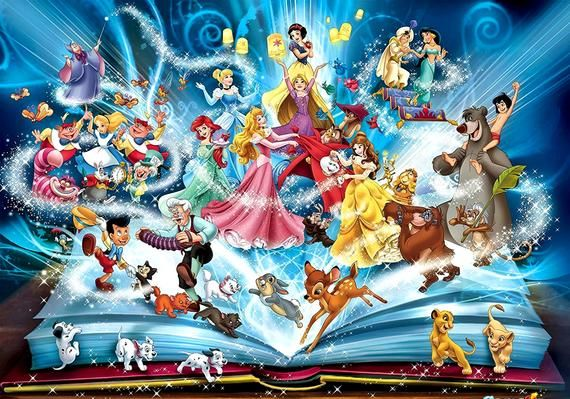 Disney Characters 5 Cross Stitch Pattern Counted Cross Stitch Chart Pdf Format Instant Download 385270-061