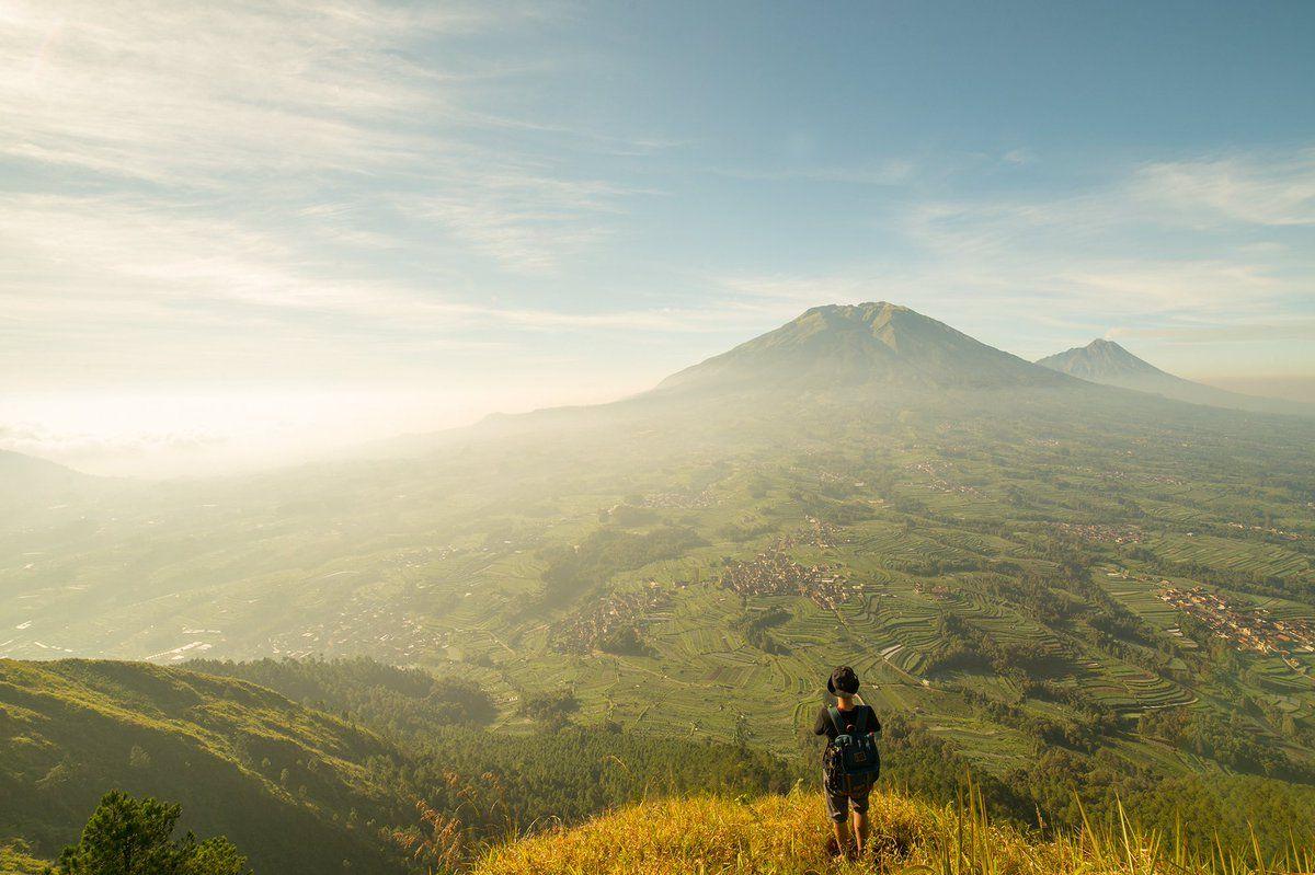 Gunung Andong Andong Pemandangan Pegunungan