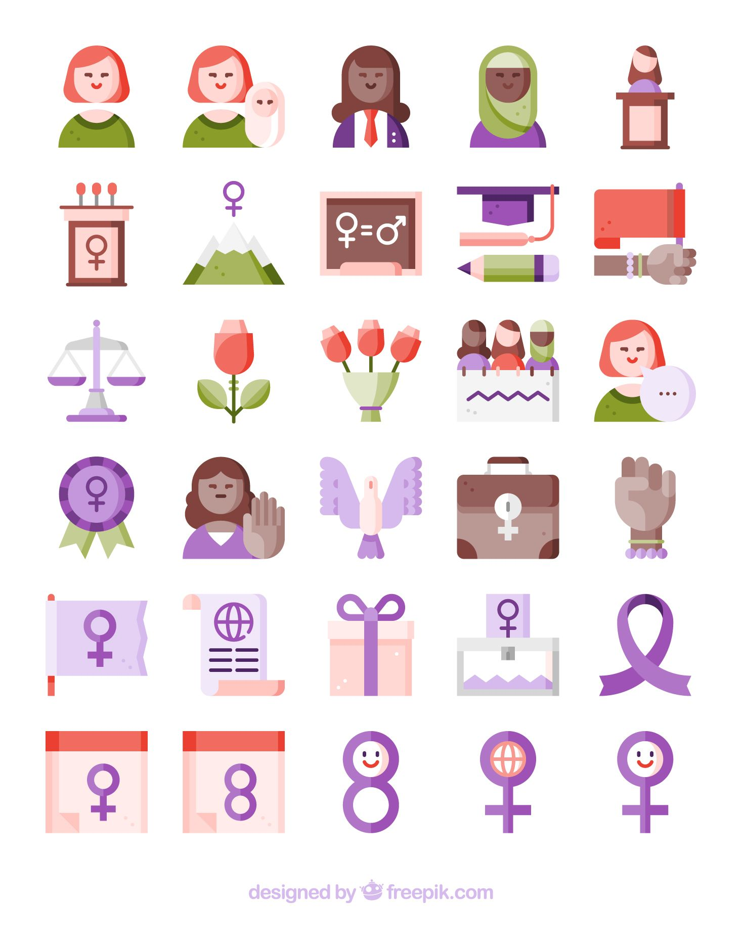 30 Free Vector Icons Of Women Vector Free Free Icon Packs