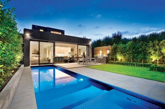 luxus pool für den kleinen garten einen luxus pool bauen, Garten und bauen