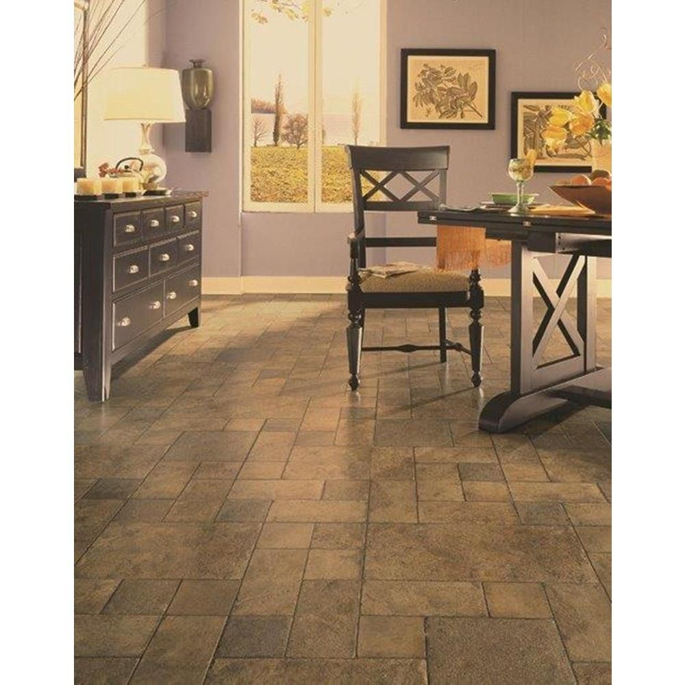 Home Decorators Collection Tuscan Stone Bronze 8 Mm Thick X 15 5 In Wide X 47 1 2 In Length Click Lock Laminate Flooring 20 02 Sq Ft Case 934063 The H Tuscan Kitchen Flooring Mediterranean Home Decor
