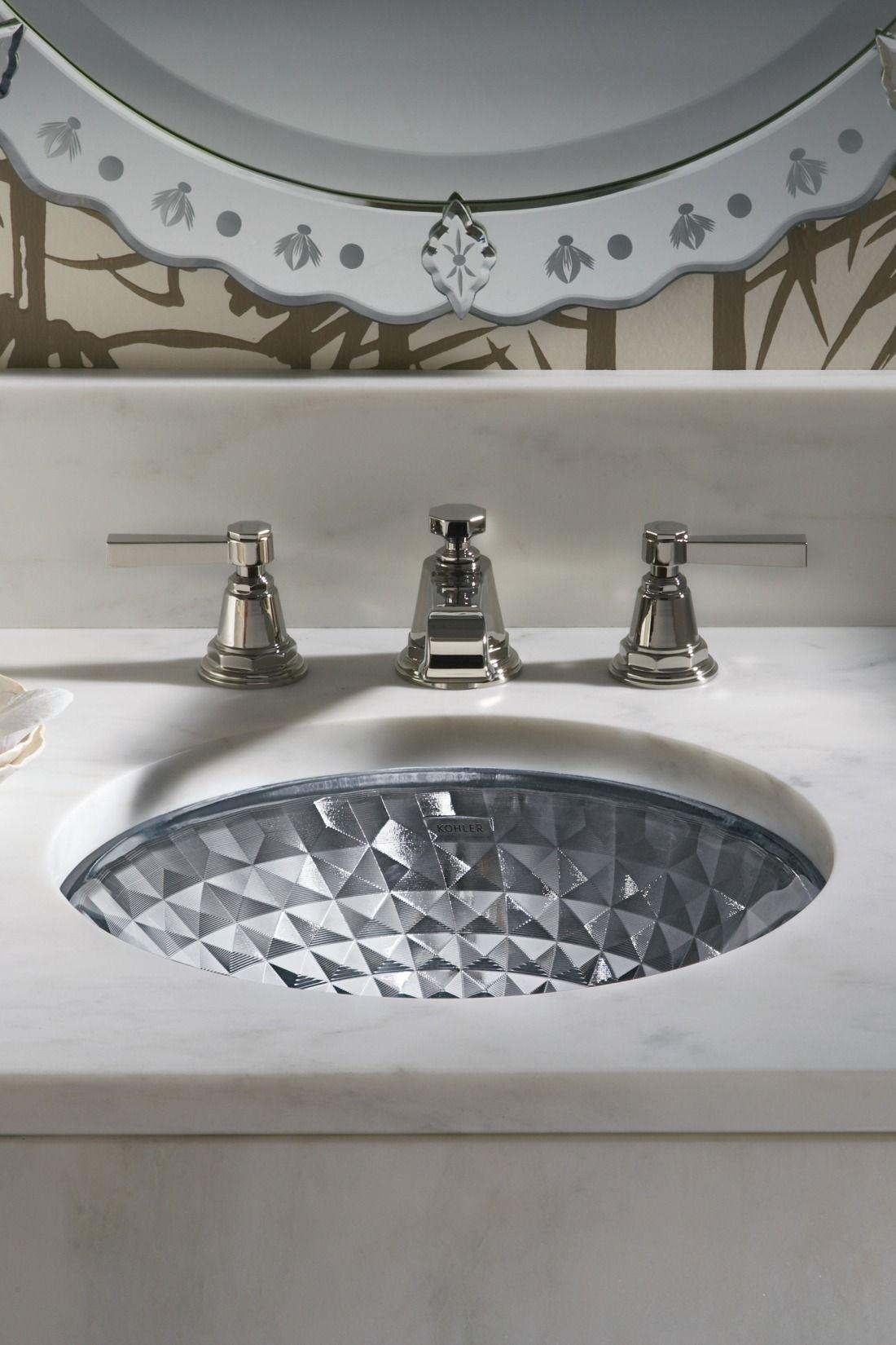 Kohler Kallos Spun Glass Undermount Basin | KOHLER | tapware ...