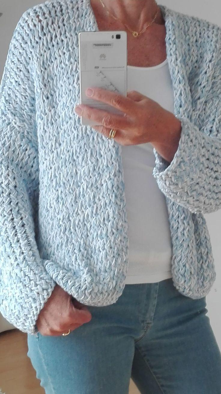 Bernadette vest breien YouTube knitting t Breien   Breien