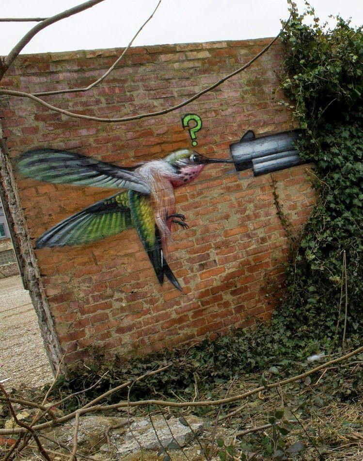 Lonac Paints A New Piece In Zagreb Croatia Streetartnews Street Art Graffiti Street Art Bird Art
