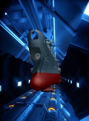 ドッグでの宇宙戦艦ヤマト2202の壁紙