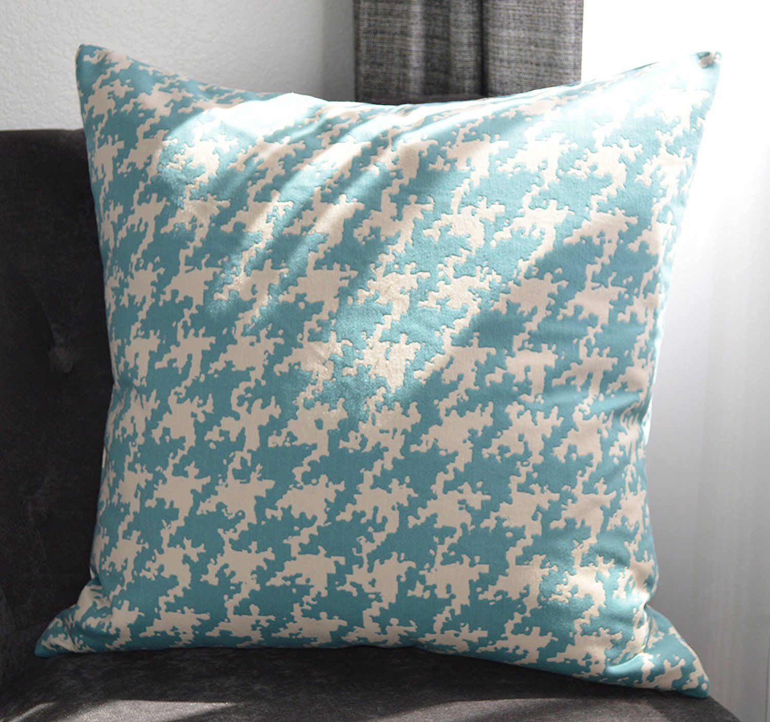 Creative Accent Decorative 17% Cotton Throw Pillow Cover, 17x17 ...