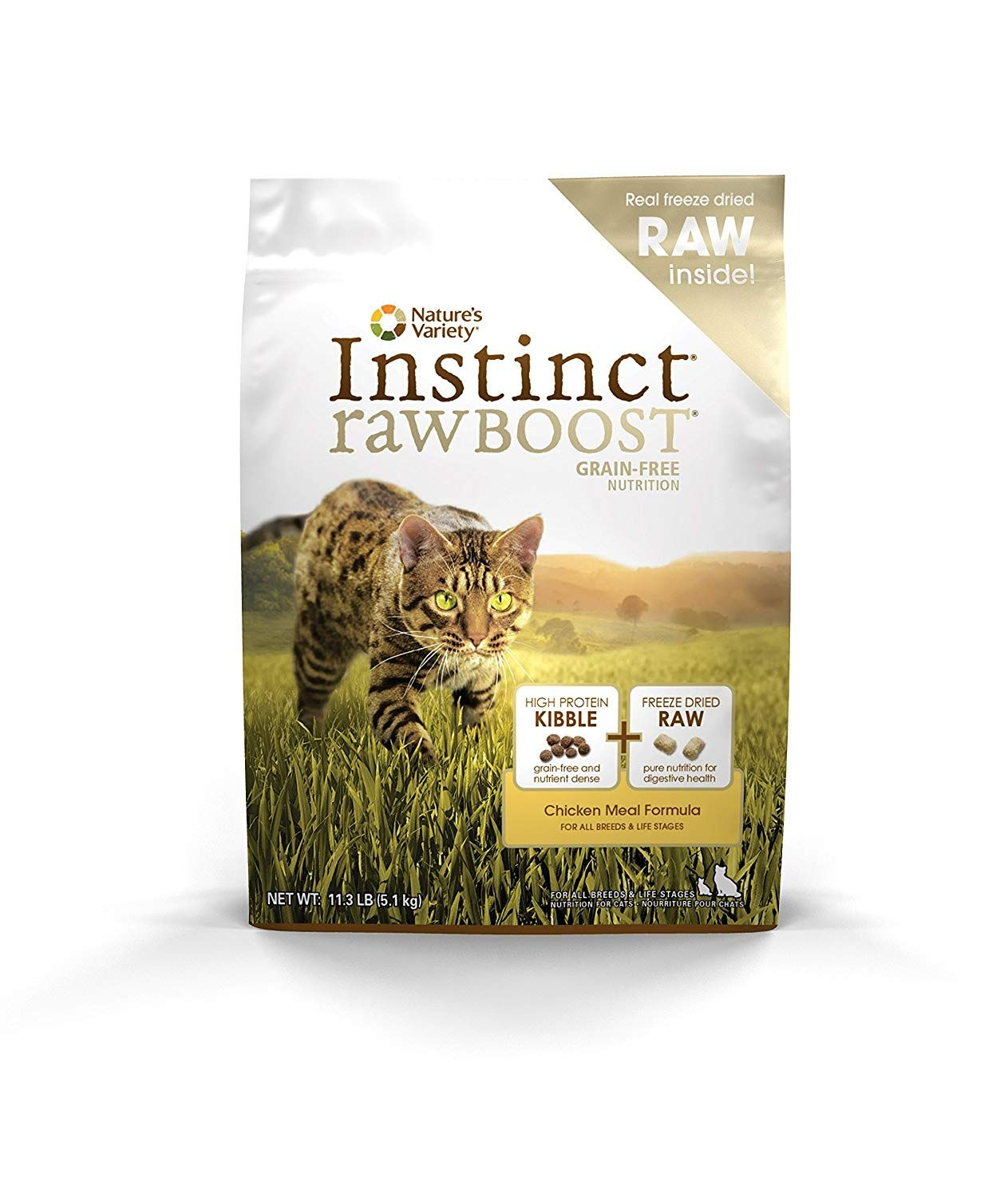 Nature's Variety Instinct Raw Boost Grain Free Chicken