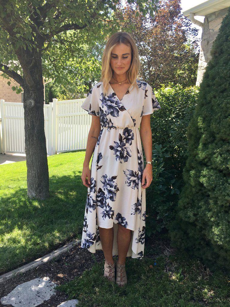Helena Floral Dress