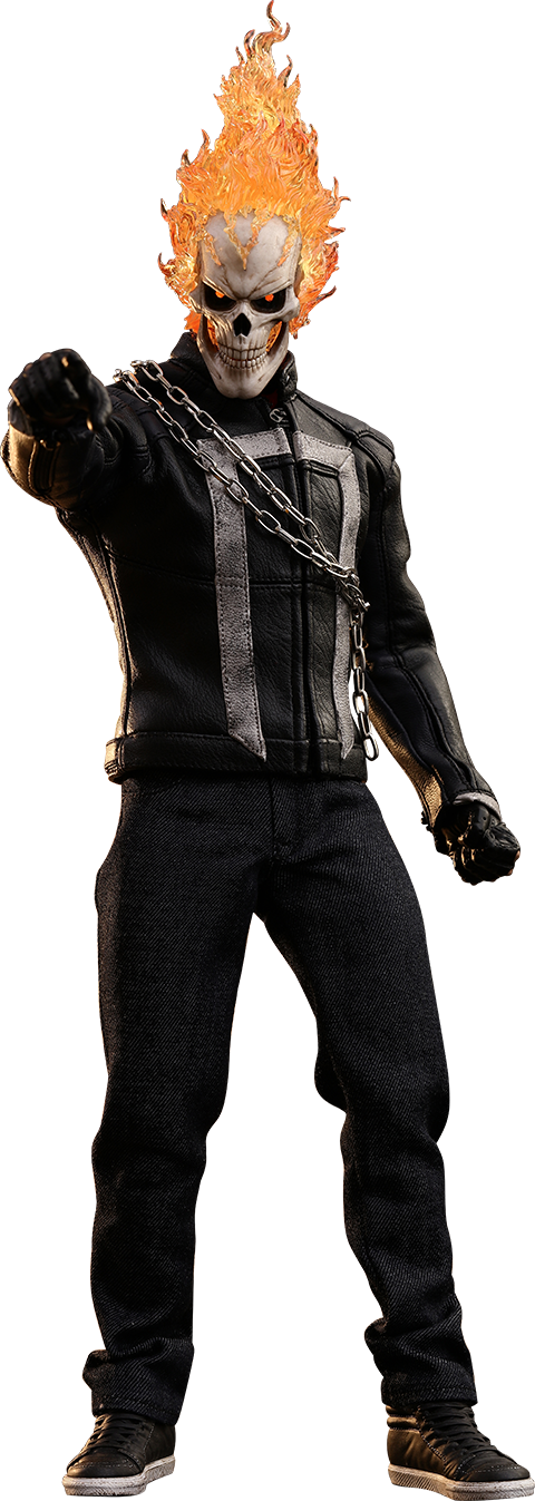 Agents Of Shield Ghost Rider By Hot Toys Ghost Rider Toys Ghost Rider Costume Ghost Rider Marvel