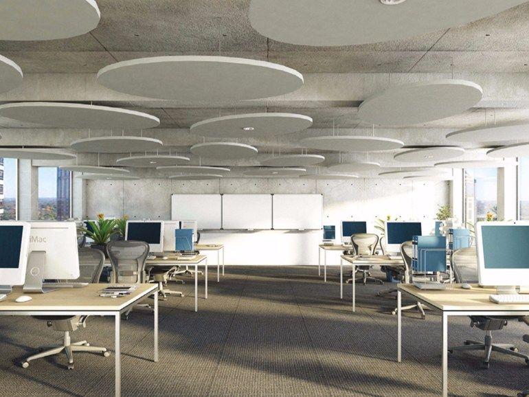 acoustic ceiling clouds rockfon eclipse rockfon. Black Bedroom Furniture Sets. Home Design Ideas
