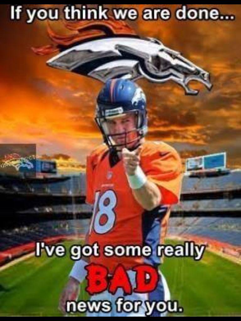 Peyton ️ (With images) Denver broncos football, Broncos