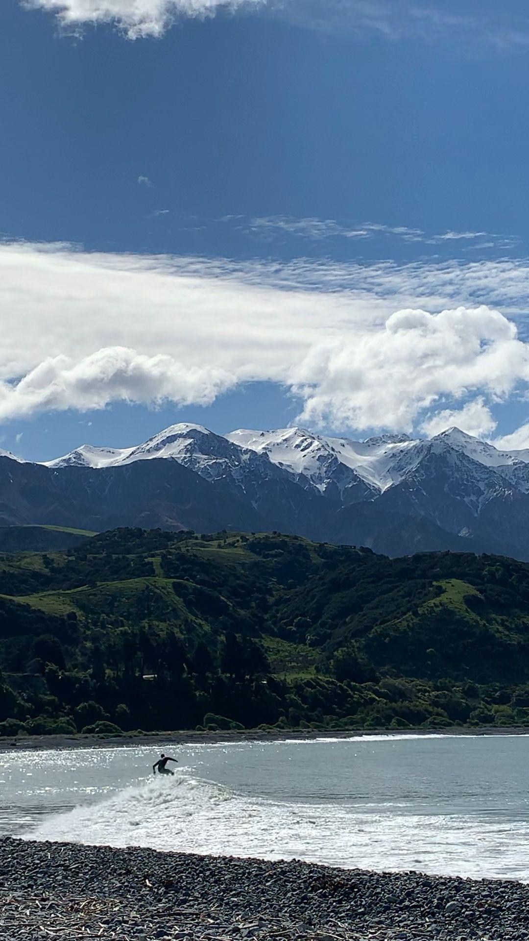 #newzealand #newzealandtravel #surf #ocean #surfing #travel #outdoors