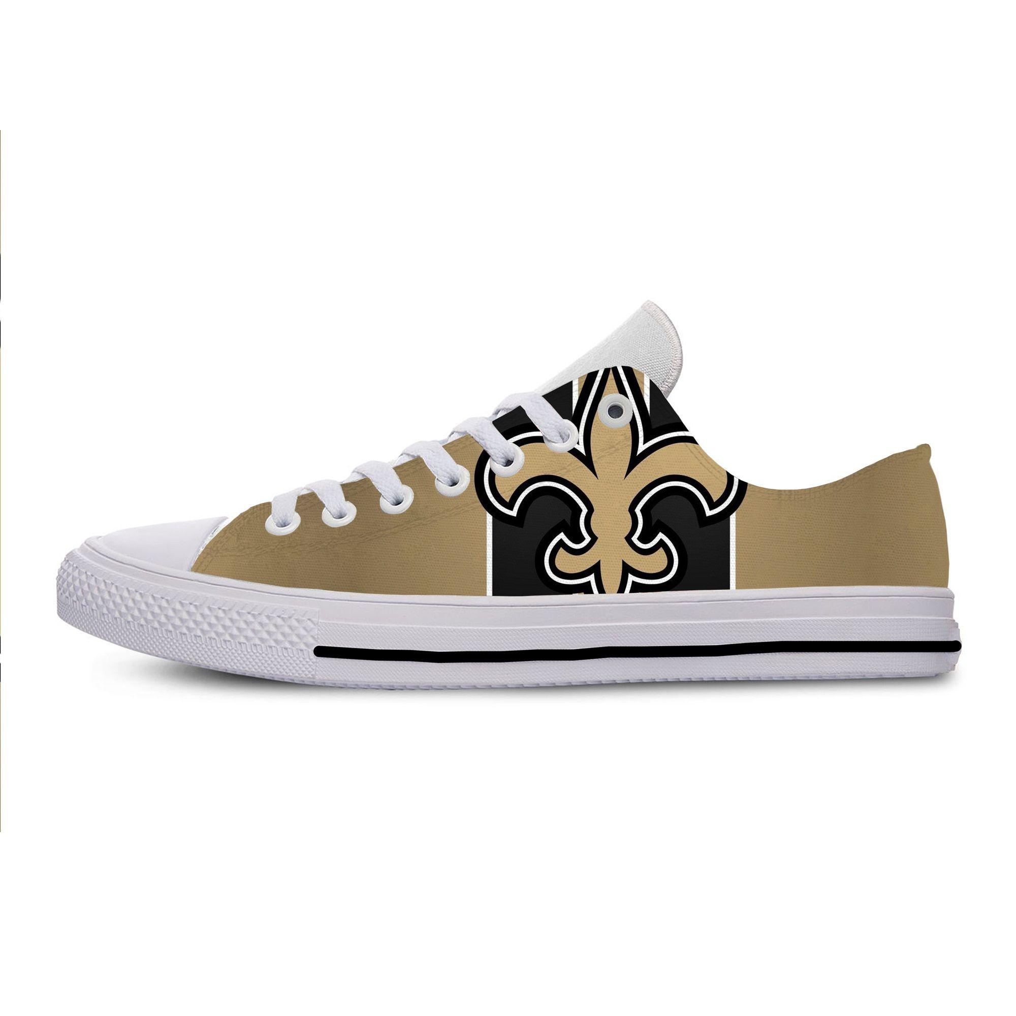 New Orleans Saints Canvas Shoes, NFL