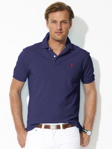 Classic-Fit Mesh Polo - Polo Ralph Lauren Classic-Fit  - RalphLauren.com Large