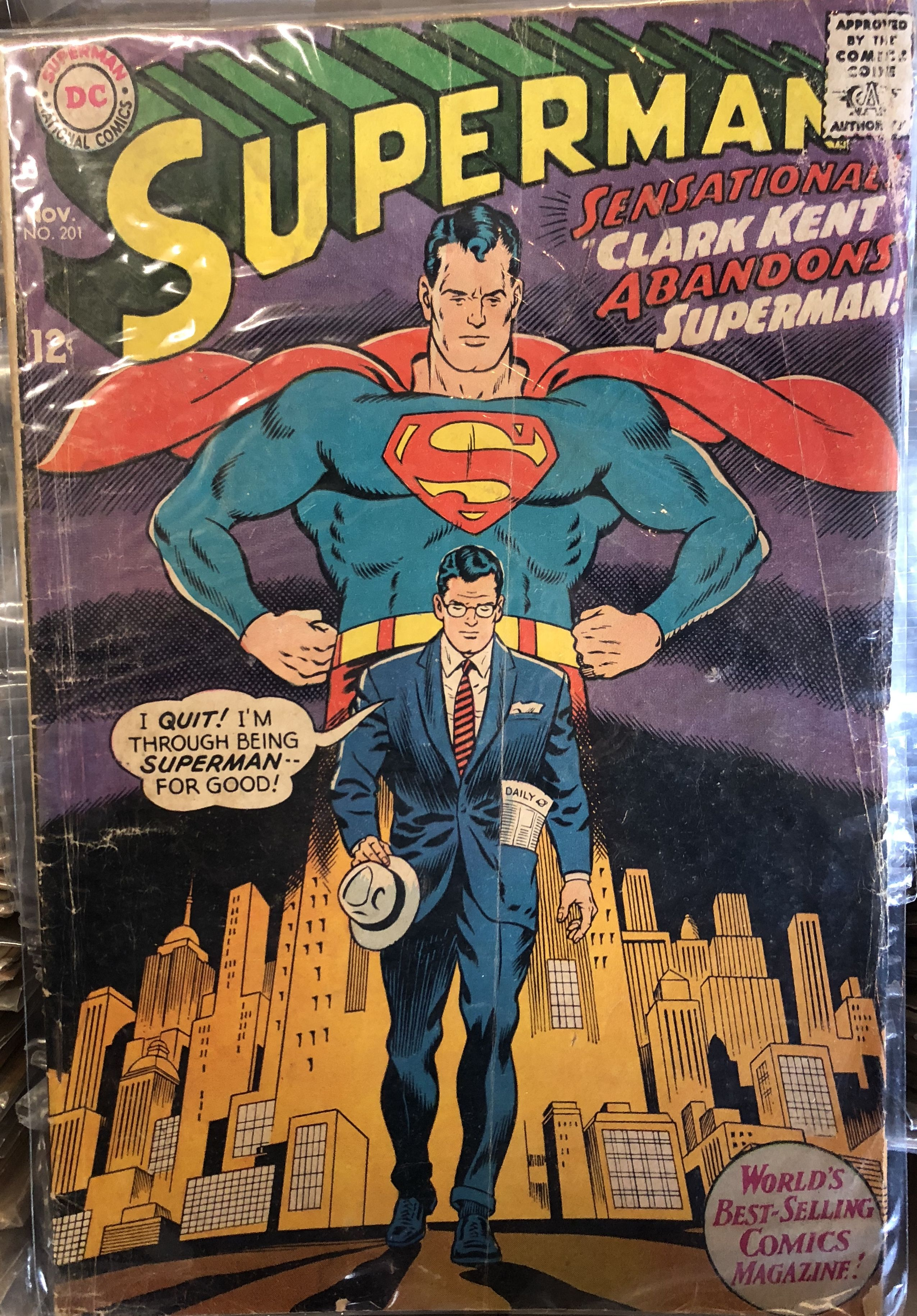 Pin By Ian Diefenbach On My Comics Superman Superman Comic Dc