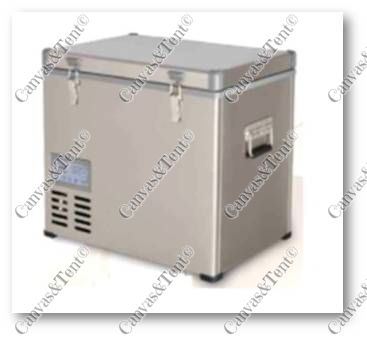 Dual Fridge Freezer Sizes Available 80lt 75lt 45lt Stainless Steel Body And Lid Insulation Thickness 55mm Bd Insulation Thickness Canvas Tent Insulation